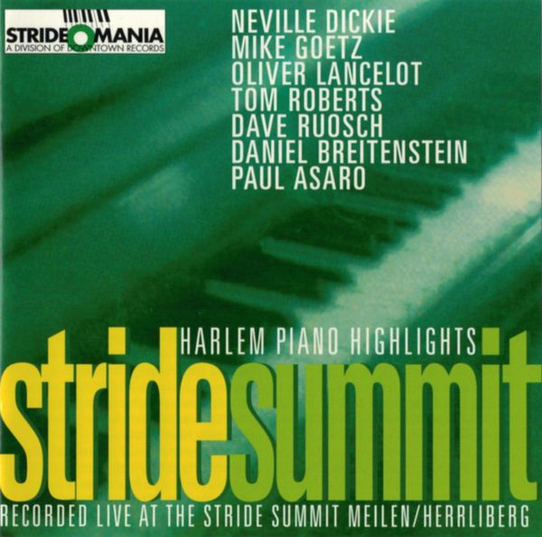 Stride Summit - Harlem Piano Highlights